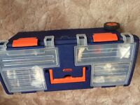 Large tool box with some tools - 2nd listing