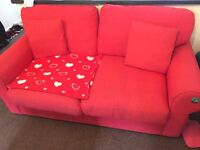 *Reduced* 2 Seater Red Sofa
