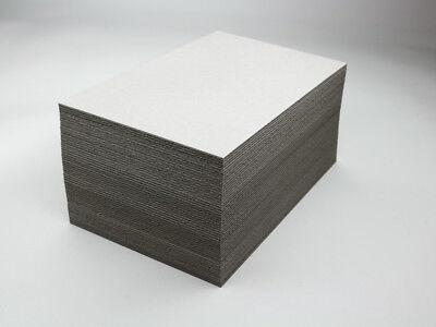 Buchbinder - Pappe - Graupappe - 2,5 mm DIN A5 - 50 Stück