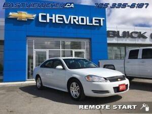 2011 Chevrolet Impala LT  - Bluetooth -  OnStar - $91.20 B/W