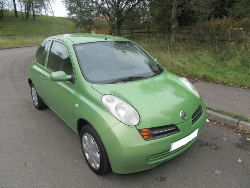 2004 39 53 39 nissan micra 1 2 se automatic 3 door hatch in light green only 55 000 in tredegar. Black Bedroom Furniture Sets. Home Design Ideas