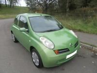 2004 '53' NISSAN MICRA 1.2 SE AUTOMATIC 3 DOOR HATCH IN LIGHT GREEN ONLY 55,000