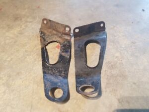 ATC 250sx Rear Fender Supports