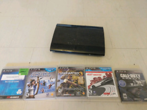Ps3 super slim and games