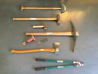 Assorted Gardening/Building Tools