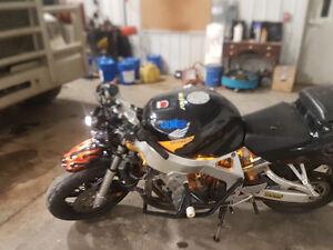 Honda Cbr 900 stunt bike