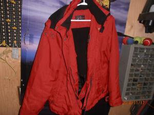 Red Alpine Tex large ladies winter coat