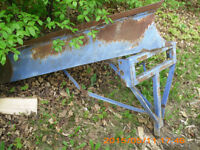 Tractor 3 point hitch V Plow