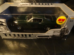 scale 1.18 die cast 1968 ford mustang from the movie bullittin