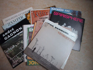 LP Records -- Light Classical, Folk, French