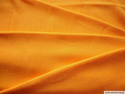 1 Lfm Jersey 3,55€/m² Schlauchstoff Micromodal orange IC54