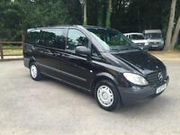 MERCEDES VITO 111 CDI LONG TRAVELINER 9 seater no vat, Black, Manual, Diesel, 20
