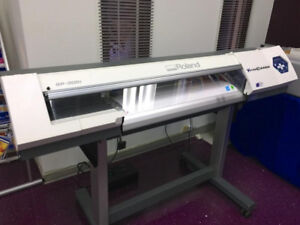 IMPRIMANTE DECOUPEUSE ROLAND SP-300I PRINTER CUTTER