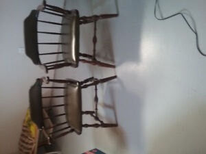 Bar chairs in excellent condition