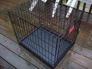 cage pour chien chat 16 x 24 x 20h pliable 30$