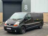2005 Renault Trafic LL29dCi 140 Van LWB + MODIFIED PANEL VAN Diesel Manual