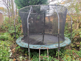 Free 14 ft trampoline (Telstar brand)