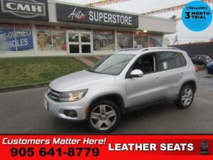 2013 Volkswagen Tiguan 2.0 TSI Comfortline  AWD LEATHER ROOF HS