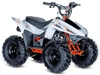 STOMP RACING KAYO 70CC CHILDRENS QUAD LT80 ATV ELECTRIC START @ RPM OFFROAD LTD