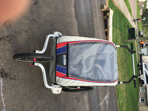 Double Jogging / Biking Stroller - Chariot Cx2