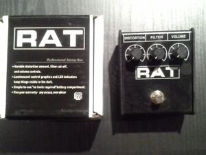 New- Pro Co Rat 2 Distortion/Fuzz/Overdrive
