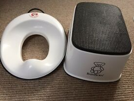 Baby bjorn toilet seat and stool
