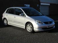 2004/04 Honda Civic 1.6i VTEC SE, 12 months mot, HPI clear, only 92000 miles