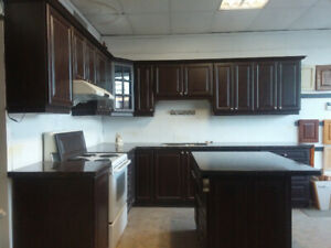 New kitchen cabinets for sale + countertop and island