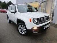 2018 Jeep Renegade 1.6 MultiJet II Longitude 5dr Diesel white Manual