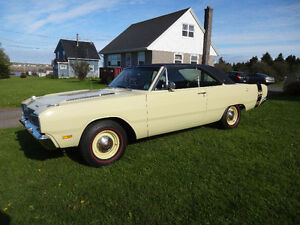 1969 Dodge Dart Swinger 340 four speed