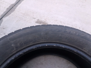 225/55R17 M+S All season tires.