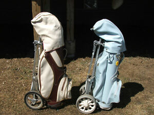 Taylor Made Clubs, Bag Boy Golf Cart $250.00