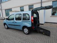 2010 60 Plate Renault Kangoo 1.6 Extreme Wheelchair Accessible Vehicle