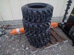Skid Steer Tires NEW 10 x 16.5  set of 4   $150/tire