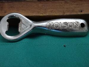 vintage Molson bottle opener, mug, glass, sign Gatineau Ottawa / Gatineau Area image 2