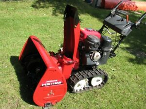 ONLY HONDA HS1128 TRACK SNOWBLOWER OFFERED ON Kijiji