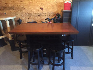 2.5 year old kitchen table