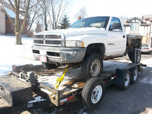1998 Dodge Ram 2500 Lift Bed Truck