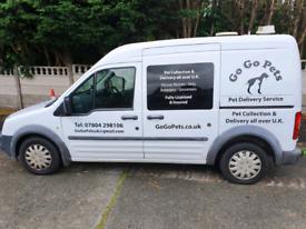 UK wide pet transport