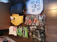 Box of Boys 1yr Clothing