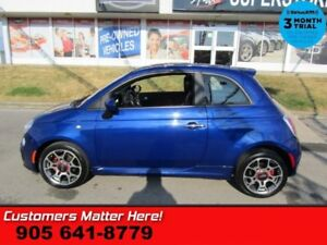 2013 Fiat 500 Sport  HATCHBACK POWER GROUP