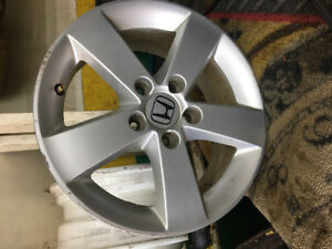"16"" stock Honda Civic rim"