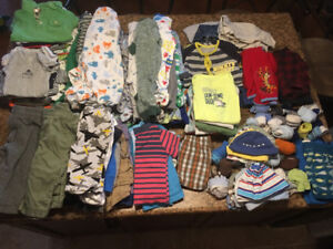 Massive lot of baby boy clothes