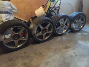 Core Racing Tire and rim for sale
