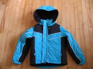 NEW - Girls Winter Jacket with Matching Vest - size 7/8
