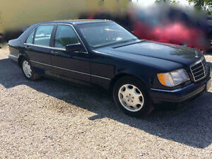 1997 S420 MERCEDES-BENZ BLUE COMES WITH EXTRA MOTOR