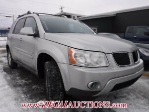 2007 PONTIAC TORRENT  4D UTILITY AWD