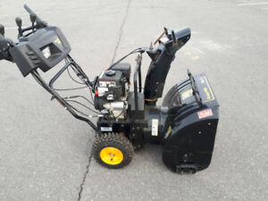 Poulan Pro 24 Inch 208cc Dual Stage Gas Snowblower.