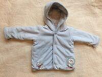 M&S reversible fleece jacket