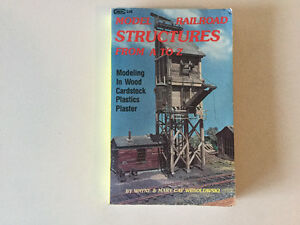Model Railroad Structures Scratchbuild N Scale HO, O to S